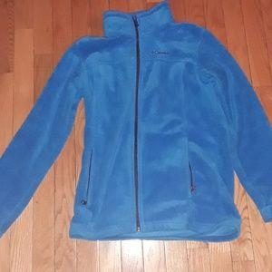 Blue Columbia zip up fleece